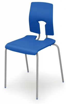 Sesame Poly Chair In Pacific Blue