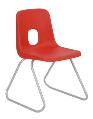 Ethel Poly Chair In Red
