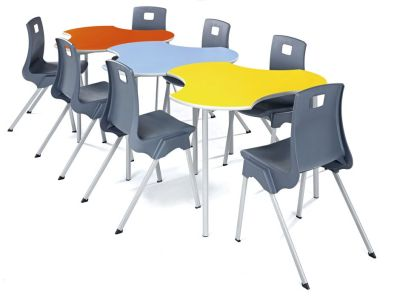 Sagu Modular Tables In A Line