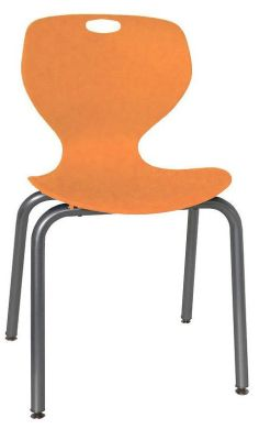 Sky Heavy Duty Poly Chair Orange Shell