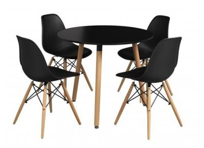 Eiffel Table And DSW Chairs Set