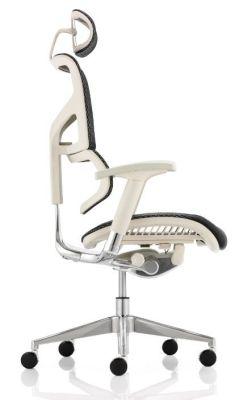 Ergo D Mesh Chair Grey Frame Side View