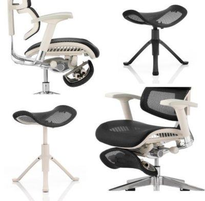 Ergo D Footstool Storage Under Chair