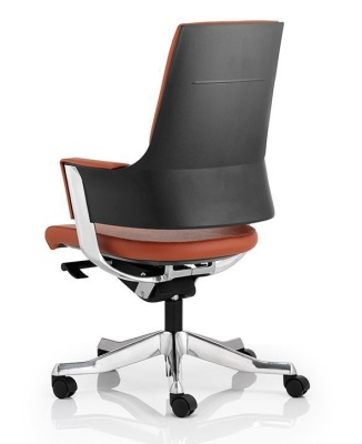 Starlight Tan Leather Executive Task Chair