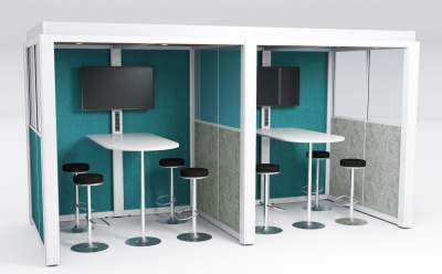 QC Double Meeting Room Acoustic Pod