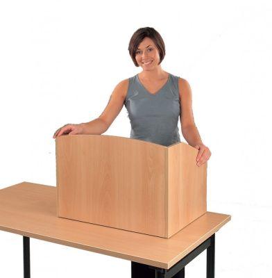 Value Beech Desk Top Tutor Lecturn