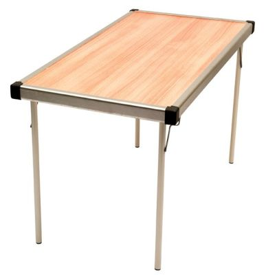 Fastfold Rectangular Table Beech Top