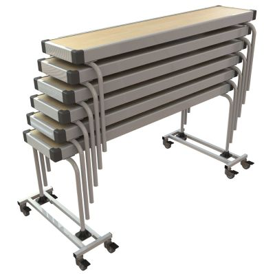 Fast Fold Stackable Benches