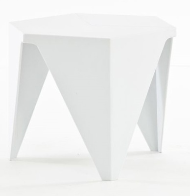 Prismatic Table Inj White