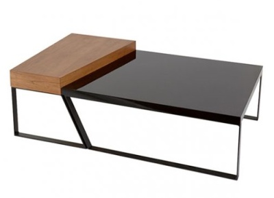 Drifter Table High Gloss Black Top
