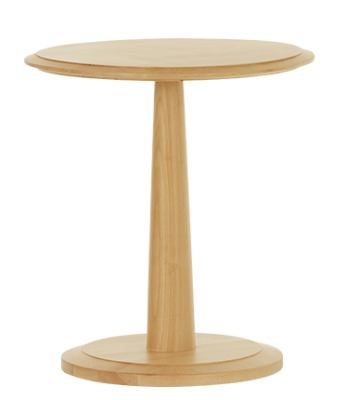 Cambridge Side Table Natural Finish