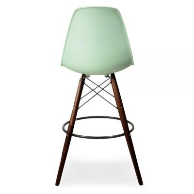 DSW High Stool Peppermint Seat Rear View