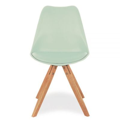 Pyramid Chair With A Peppermint Chair Front View