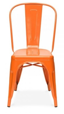 Tollix V4 Side Chair Orange Facing
