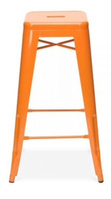 Xavier High Stool Orange