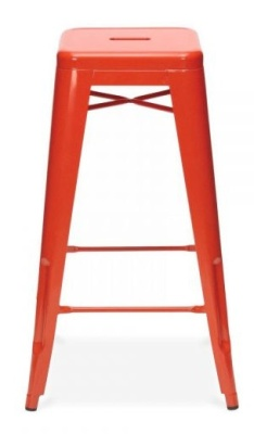 Xavier Pauchard 650mm High Stool In Red