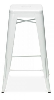 Xavier Lpauchard Worktop Height Stool In White
