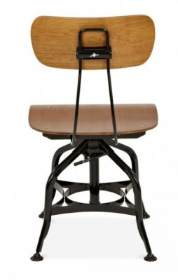 Toledo High Stool Rear View