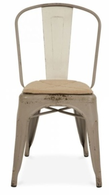 Xavier Pauchard Side Chair Antique Gun Metal Finish