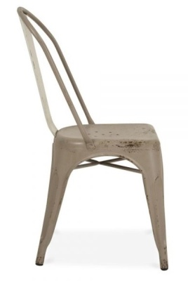 Xavier Pauchard Side Chair Antique Side View