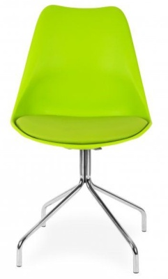 Lacro Poly Chair Lime Green Facing