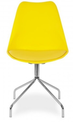 Lacro Poly Chair In Yellow Facing