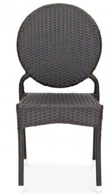 Mina Rattan Chair Front View