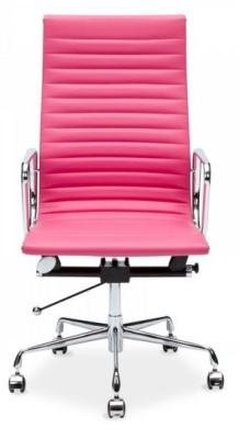 Aria High Back Execitive Chair In Pink