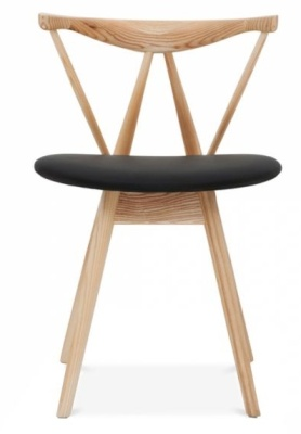 Kite Dining Chair Natural Finish