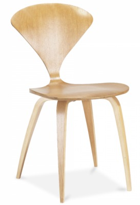 Cherner Chair In Oak Front Angle