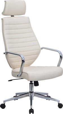 Domain Executive Chair Cream Leather