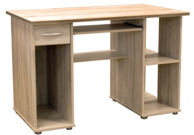 Argent Light Oak Desk