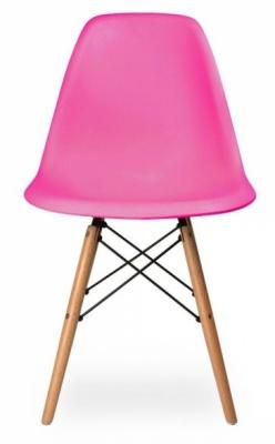 DSW Chair Lipstick Pink