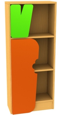 Carrot Bookcase