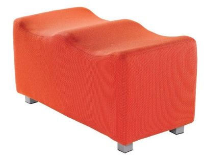 Curveo Two Seater Low Stool