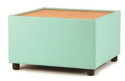 Roxy Upholstered Square Coffee Table