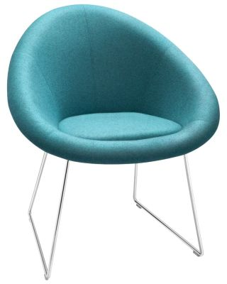 Gloss Designer Chair With A Skid Frame
