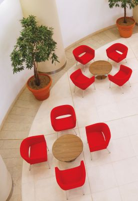 Lola Tub Chairs Aerial View