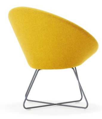 Conic Designer Lounge Chair Rear View