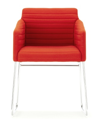 Tommo Conference Or Dining Chair Front Facing