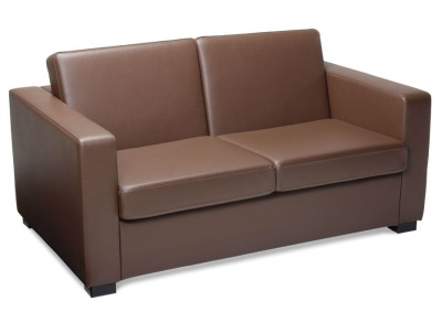 Newbury Brown Leather Sofas