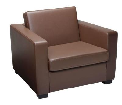 Newbury Faux Leather Single Sofa