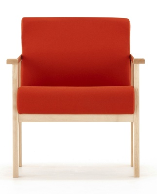 Studio Low Chair With Arms Facing