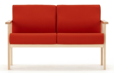 Studio Two Seater Sofa Front View