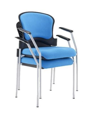Sonata Chair With Arms Stacked