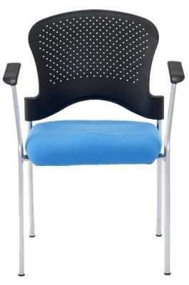 Sonata Armchair With A Poly Chair Facing