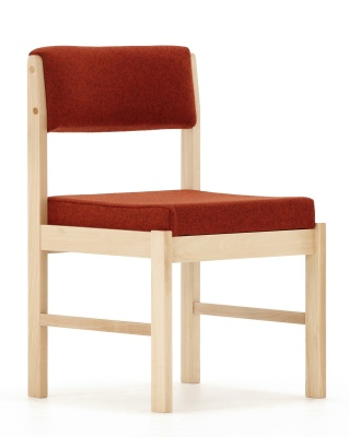Comsort Square Frame Side Chair Front Angle