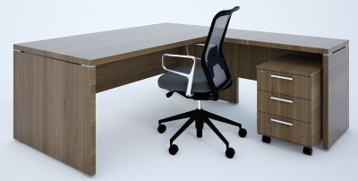 Quando Executive Desks And Return User Side
