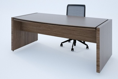 Stratus Executive Bow Fronted Desk