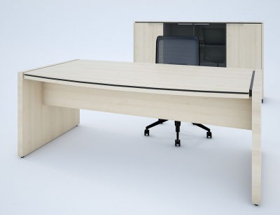 Stratus Executive Desk In Canadian Oak